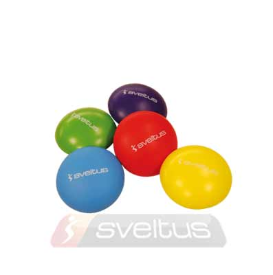 5 oval foam balls set